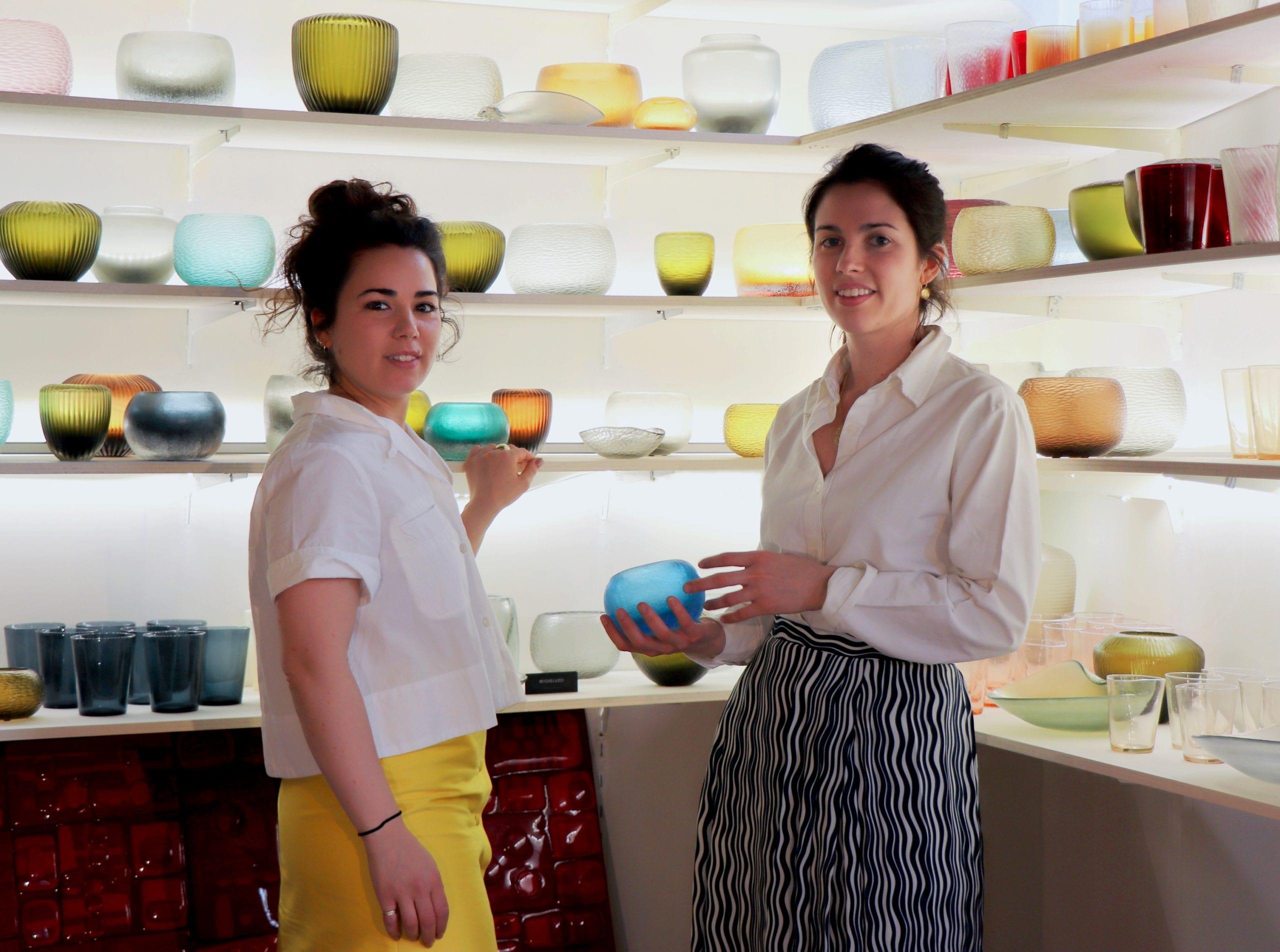 Elena e Margherita Micheluzzi - Micheluzzi Glass